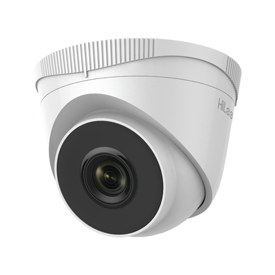 IPC-T240H HiLook Series / Turret IP 4 Megapixel / 30 mts IR / Exterior IP67 / PoE / WDR 120 dB / Lente 2.8 mm