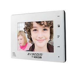 [20395] KCV-D372-MW Monitor Adicional en Color Blanco