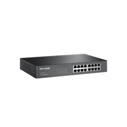 [141326] TL-SG1016D Switch Gigabit no administrable de 16 puertos 10/100/1000 Mbps para escritorio/rack